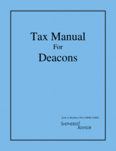 Tax Manual for Deacons